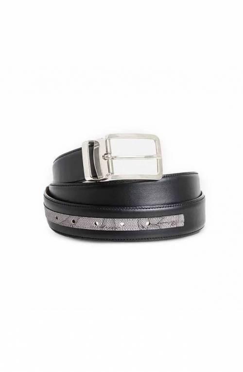 ALVIERO MARTINI 1° CLASSE Belt GEO DARK Male Leather Black - A434-5400-0014