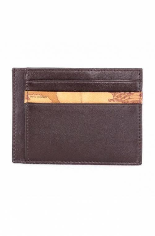 ALVIERO MARTINI 1° CLASSE Credit card case GEO Male Leather Brown - W354-5600-0500