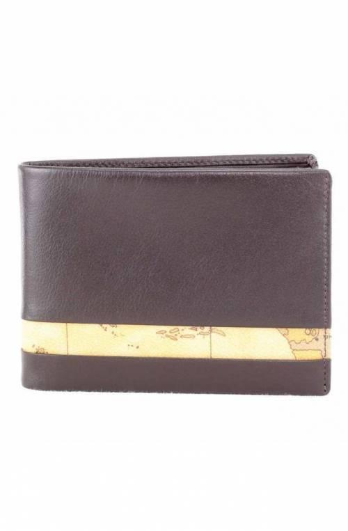 ALVIERO MARTINI 1° CLASSE Wallet Geo Classic Leather Brown - W143-5600-0500