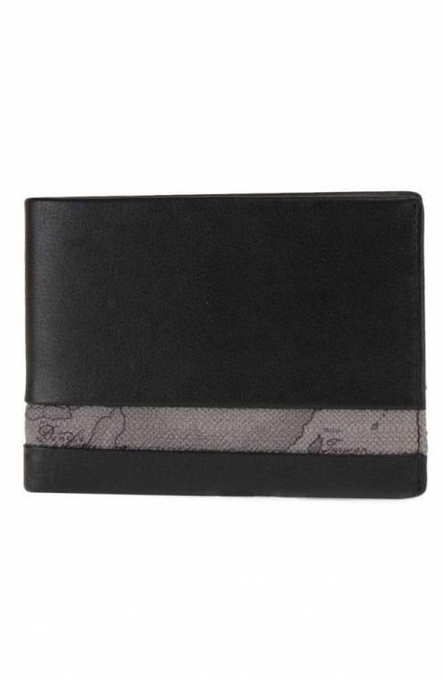 ALVIERO MARTINI 1° CLASSE Wallet Geo Classic Leather Black - W143-5400-0014