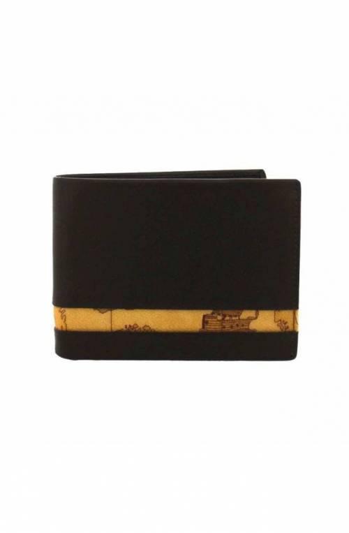 ALVIERO MARTINI 1° CLASSE Wallet Geo Classic Male Leather Brown - W145-5600-500