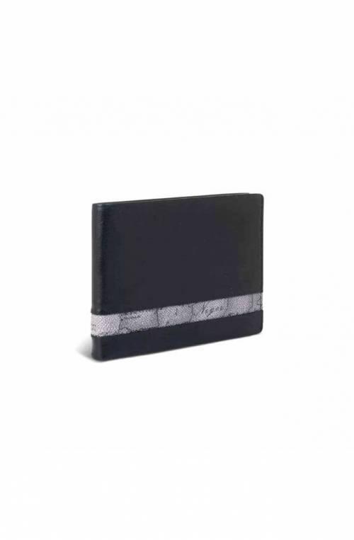 ALVIERO MARTINI 1° CLASSE Wallet GEO DARK Male Leather Black - W145-5400-0014