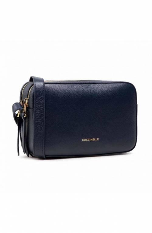COCCINELLE Tasche LEA Damen Leder Blau - E1H60150201B12