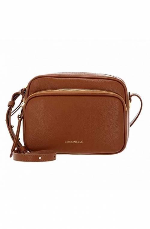 COCCINELLE Tasche LEA Damen Leder Karamell- E1H60150101W03