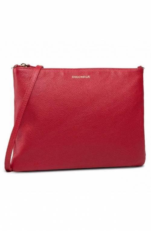 Borsa COCCINELLE MINI BAG Donna Pelle Rosso - E5HV355F407R63