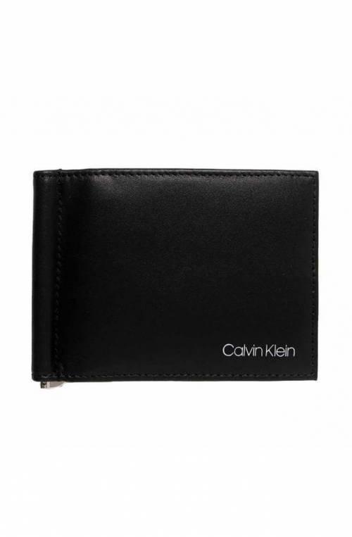 CALVIN KLEIN Wallet Male Leather Black - K50K507141BAX
