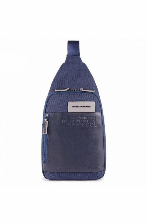 PIQUADRO Tasche Ade Herren Crossovertasche Blau - CA5159W107-BLU
