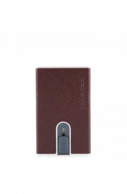Portacarte PIQUADRO sliding system Marrone - PP4825B2SR-TM