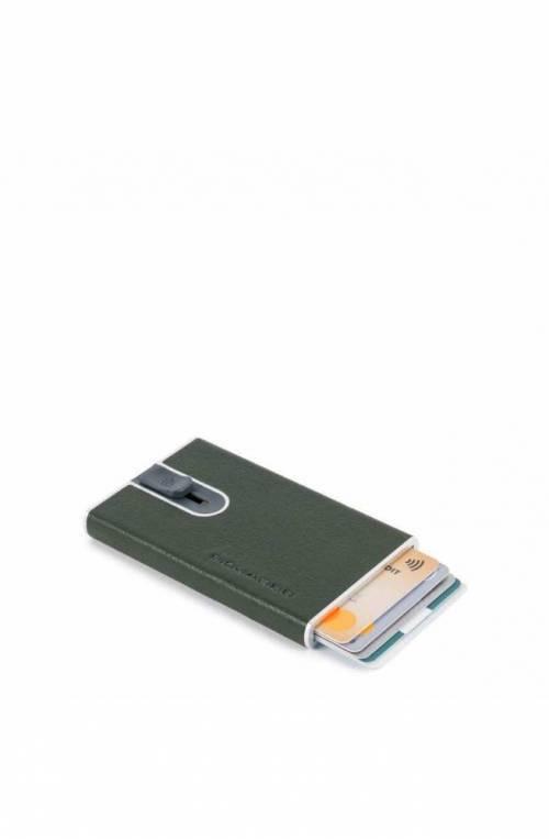 PIQUADRO Kartenhalter sliding system gruen - PP4825B2SR-VE