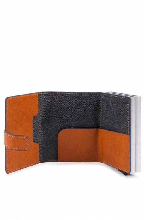 PIQUADRO Geldbörse Herren Orange RFID-Blocker - PP5472B2SR-AR