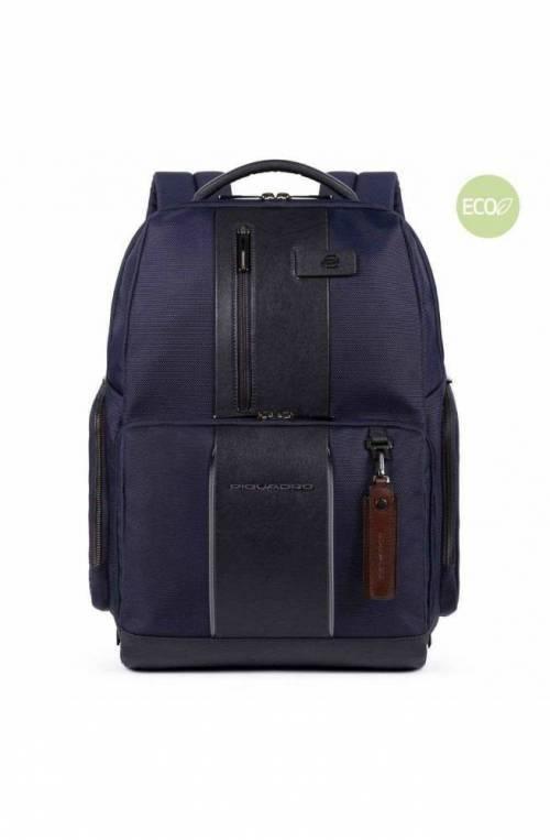 PIQUADRO Backpack Brief 2 Male led Blue - CA4532BR2L-BLU