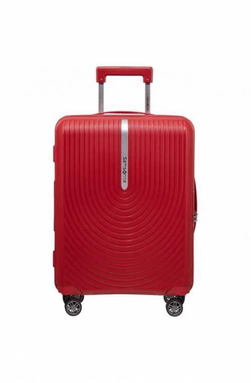 Trolley SAMSONITE HI-FI rosso espandibile - KD8-00002