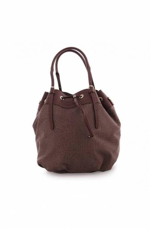 BORBONESE Bag Female Bordeaux- 933170-I15-N35
