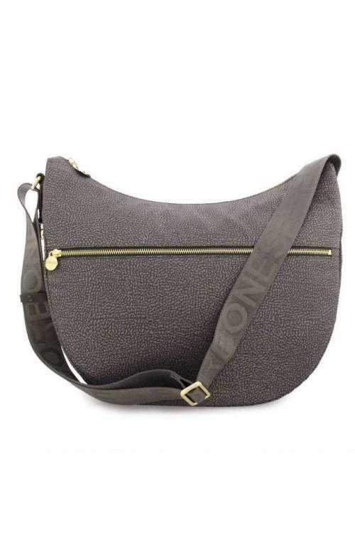 BORBONESE Bag Female Grey- 934109-I15-190
