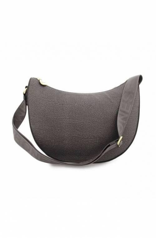 BORBONESE Bag Female Grey- 934411-I15-190