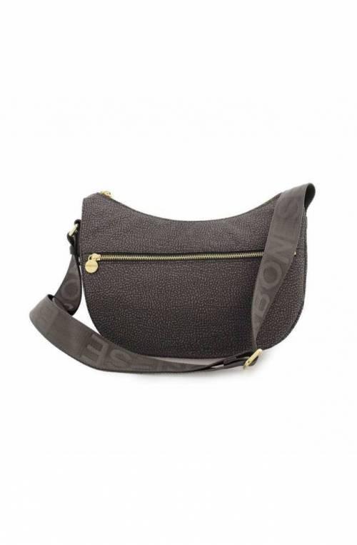 BORBONESE Bag Female Grey- 934107-I15-190