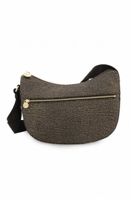 BORBONESE Bag Female Brown- 934107-I15-228