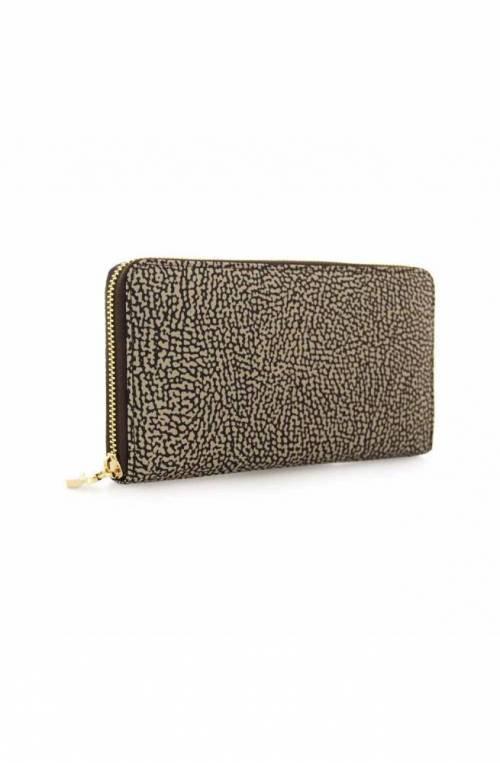 BORBONESE Wallet Female Brown- 930111-I15-228