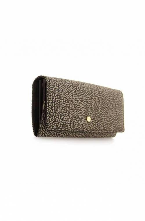 BORBONESE Wallet Female Brown- 930112-I15-228