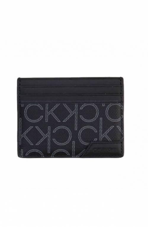 CALVIN KLEIN Credit card case Male Black - K50K50701900Z
