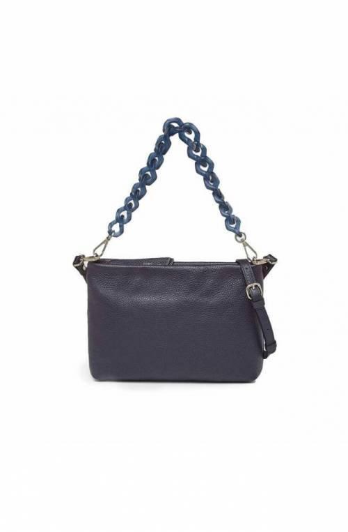 GIANNI CHIARINI Bag BRENDA Female Leather Blue - BS8265GRN-1138