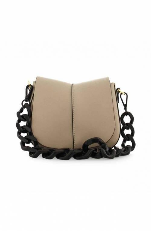 GIANNI CHIARINI Bag HELENA ROUND Female Leather Beige - BS676420AICL-1057