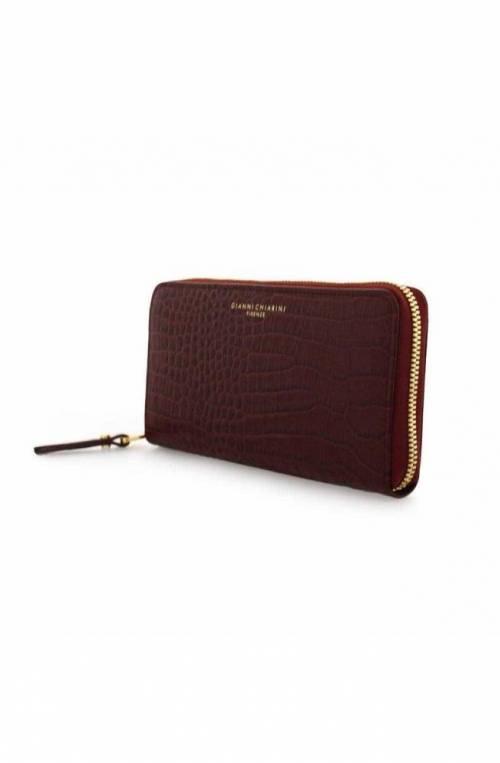 GIANNI CHIARINI Wallet Female Leather Bordeaux - PF504220AI-2728