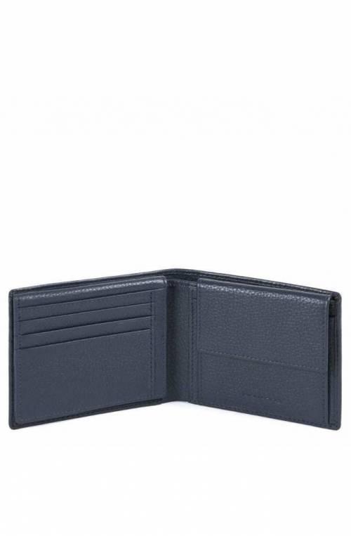 PIQUADRO Wallet MODUS Restyling Leather Blue PU1392MOSR-N