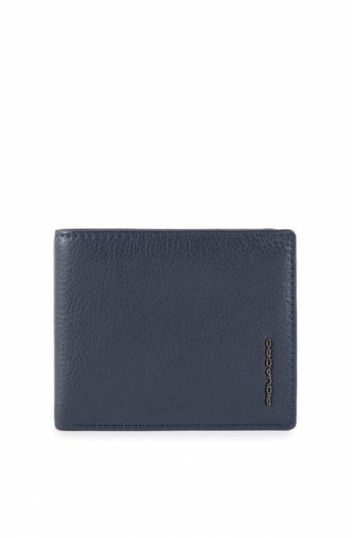 PIQUADRO Wallet Modus Special Leather Blue - PU4518MOSR-BLU