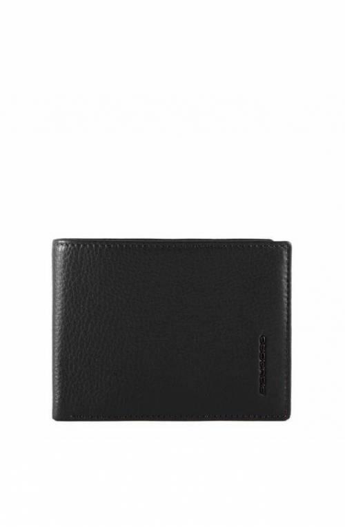 PIQUADRO Wallet Modus Special Male Leather Black - PU257MOSR-N
