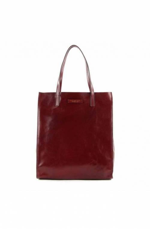 The Bridge Bag Female Leather Bordeaux - 04330101-03