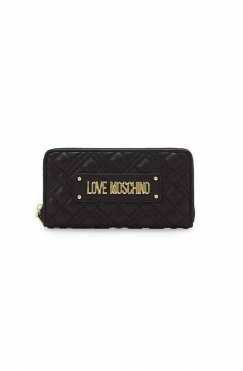 LOVE MOSCHINO Wallet Female Black - JC5600PP1DLA0000