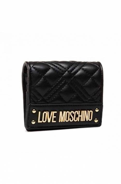 LOVE MOSCHINO Wallet Female Black - JC5601PP1DLA0000