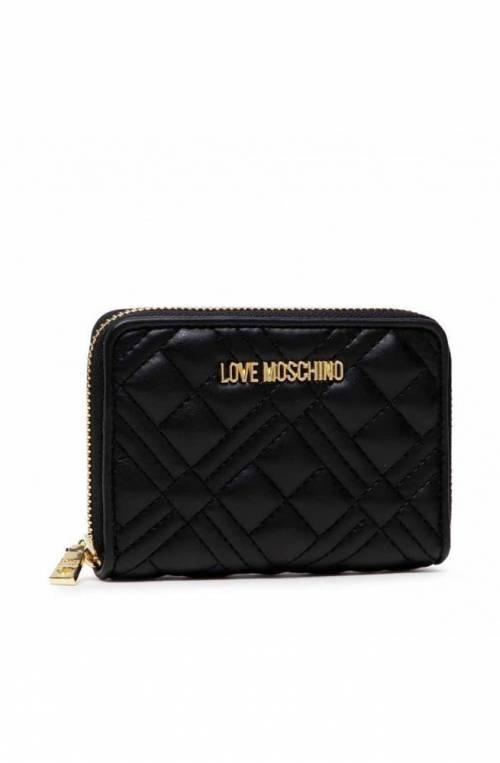LOVE MOSCHINO Wallet Female Black - JC5602PP1DLA0000