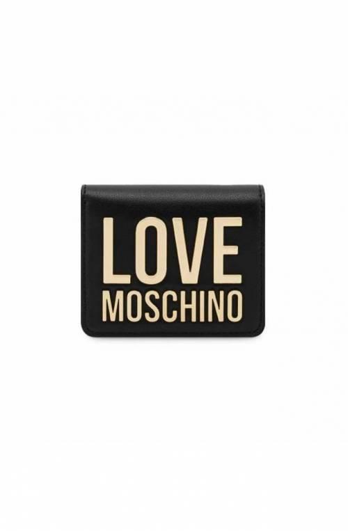 LOVE MOSCHINO Wallet Female Black - JC5612PP1DLJ000A