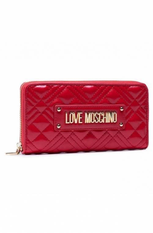 LOVE MOSCHINO Wallet Female red - JC5600PP1DLA0500