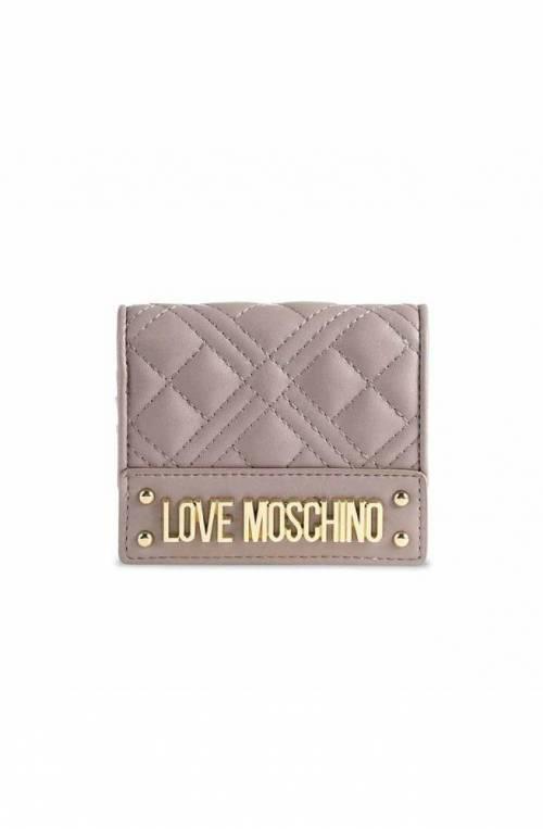 LOVE MOSCHINO Wallet Female Gray - JC5601PP1DLA0001