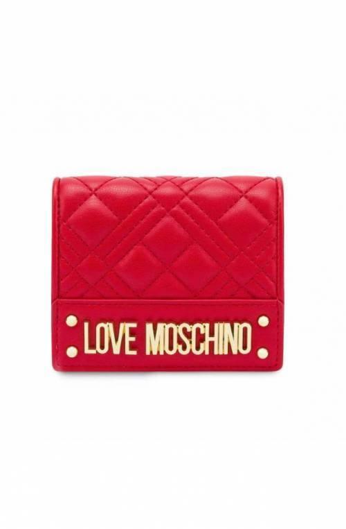 LOVE MOSCHINO Wallet Female red - JC5601PP1DLA0500