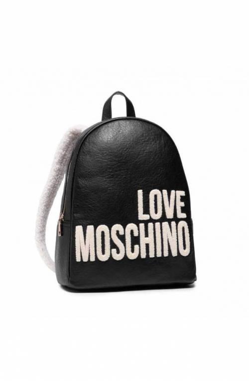 LOVE MOSCHINO Backpack Ladies Black - JC4287PP0DKJ0000
