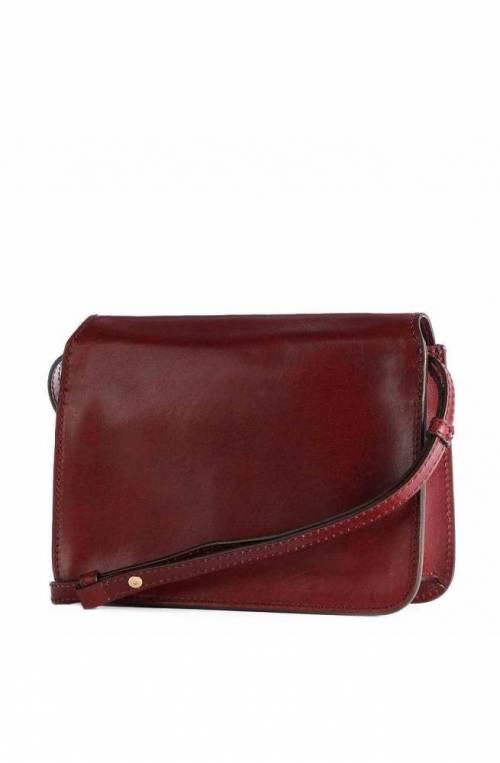The Bridge Bag Female Leather Bordeaux 04193001-03