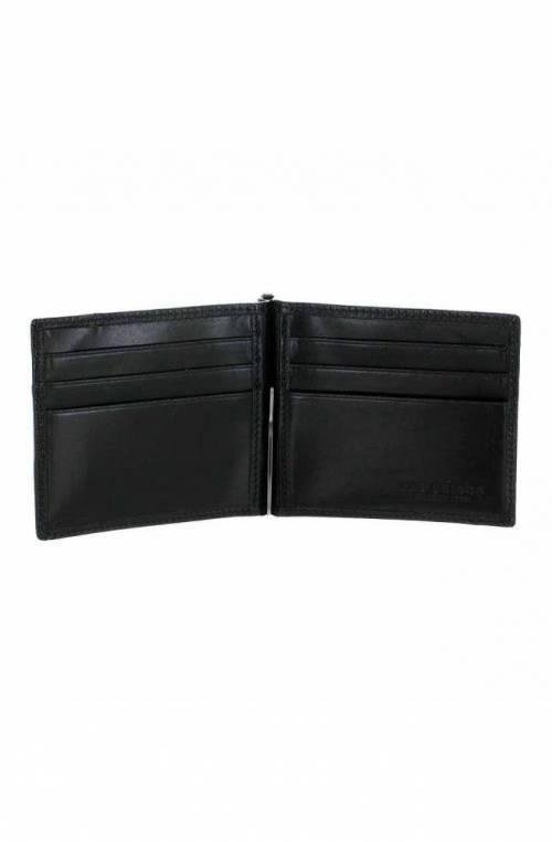 The Bridge Wallet Male Leather Black - 01411101-20