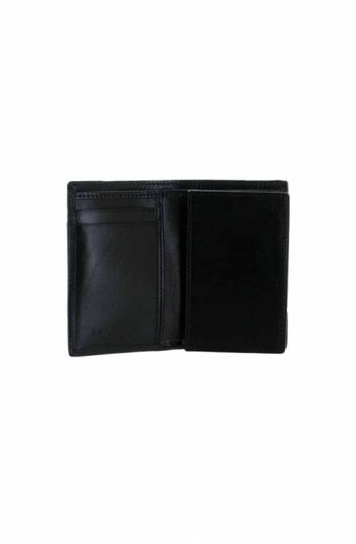 The Bridge Wallet Male Leather Black - 01412101-20