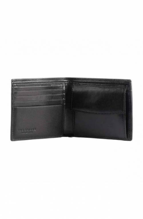 The Bridge Wallet Male Leather Black - 01413101-20
