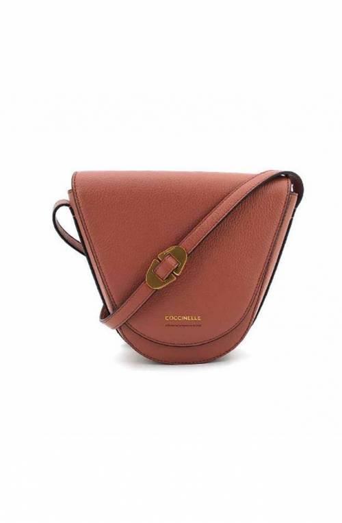 COCCINELLE Bag JOSEPHINE Female Leather Brown - E1IAA150301R50