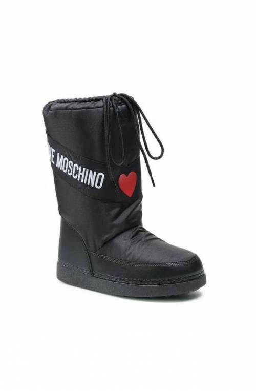 LOVE MOSCHINO Shoes Snow boots 39-40 Black - JA24032G1DISA000-39