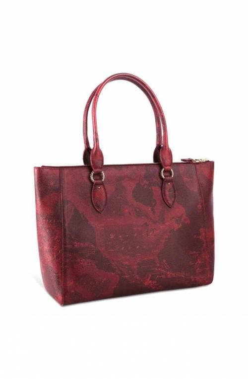 ALVIERO MARTINI 1° CLASSE Bag Geo Rouge Ladies Tote Bordeaux - GR57-9706-0316