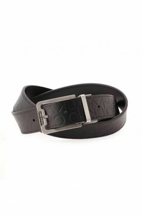 CALVIN KLEIN Belt Male Leather Reversible Black - K50K50741401I-115