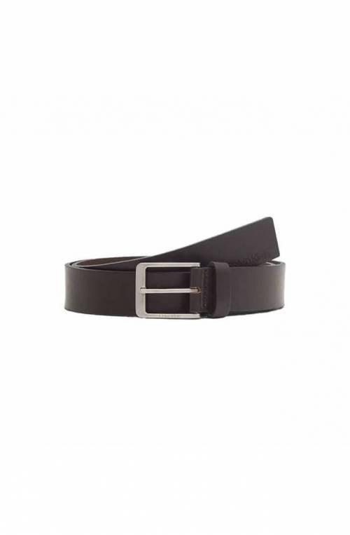 CALVIN KLEIN Belt VITAL Male Leather Brown - K50K507420GE7-105