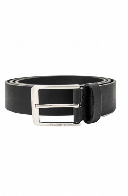 CALVIN KLEIN Belt VITAL Male Leather Black - K50K507420BAX-100