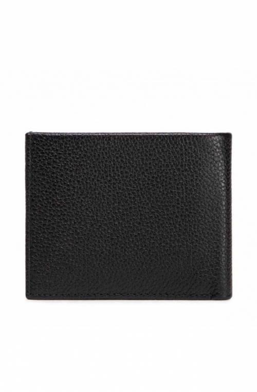 CALVIN KLEIN Geldbörse Herren Leder Schwarz RFID-Blocker - K50K507379BAX